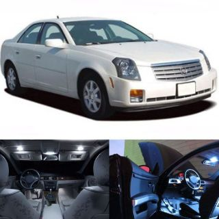 Buy LED White Lights Interior Package Kit For Cadillac CTS 2003-2007 (8pcs) motorcycle in San Diego, California, United States, for US $21.99
