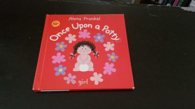 Girl potty book