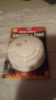 first alert. smoke and fire alarm