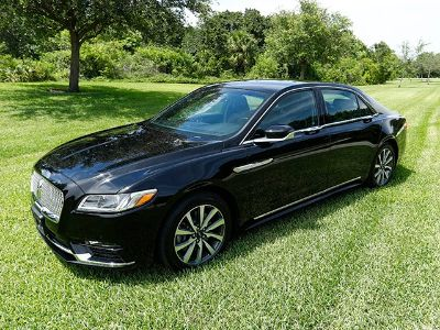 2017 Lincoln Continental AWD Livery (Black)