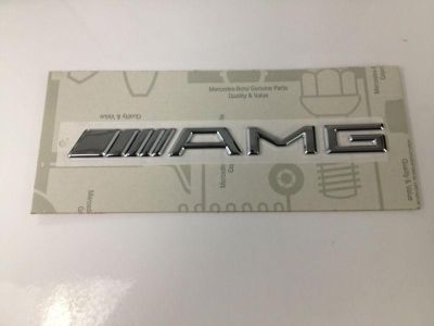 Purchase Genuine OEM Mercedes Benz Trunk Lid AMG Emblem motorcycle in Maitland, Florida, US, for US $60.00