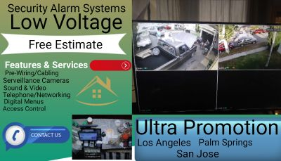 4k Cameras and Alarms and Security Systems