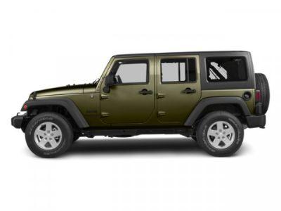 2013 Jeep Wrangler Unlimited Rubicon (Commando Green)
