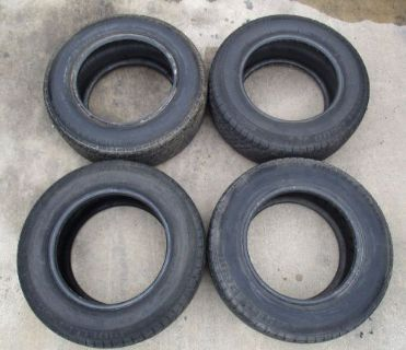 Find Tires Pirelli P600 235/60/15 Used Set of 4 J10420 motorcycle in Sherman, Texas, United States, for US $125.00