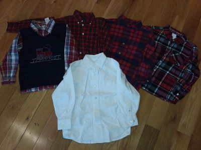 Boys 4T Holiday shirt / Outfit Lot