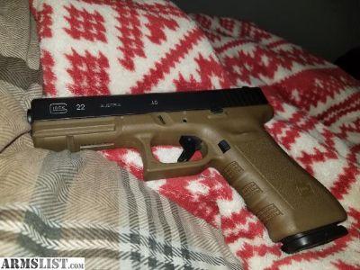 For Trade: Glock 22 Gen 3 FDE