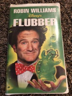 Flubber With Robin Williams Walt Disney Home Videos VHS Tape