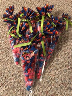 SUPERMAN CANDY BAG PERFECT TOADD TO A GIFT OR ALONE !