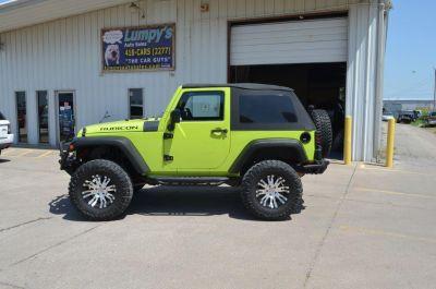 2009 Jeep Wrangler X (Green)