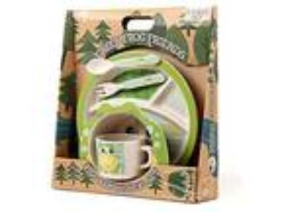 Bamboo Meal Set / Plate set / Dinner set by Green Frog