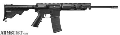 "For Sale: $514 MIR Rebate: DPMS 60218 Lite 16 A3 Semi-Automatic 223 Remington/5.56 NATO 16"" 30+1 Pardus 4-Position Black Stk Black"
