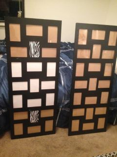 2 large picture frames