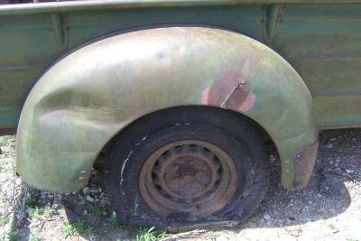 Find IHC International Truck R REAR FENDER 1949 49 1948 48 1947 47 1946 46 1941 41 motorcycle in Great Bend, Kansas, US, for US $450.00