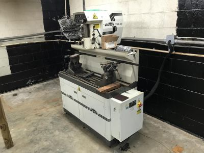 Sunnen VGS20 seat and guide machine