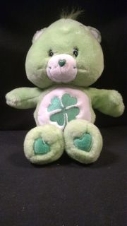 "Care Bears 12"" Good Luck Bear Plush Doll (T=36)"