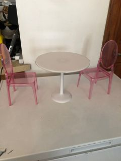 Our generation doll table and chairs