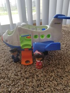 Little people plane and dolls