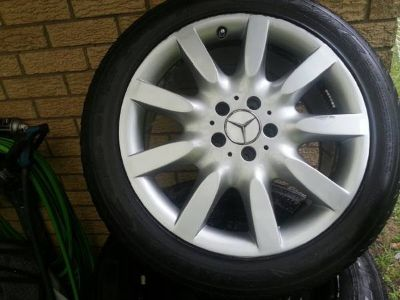 Mercedes Wheels (alloy) w/ 255X45/R18 Tires HD 921