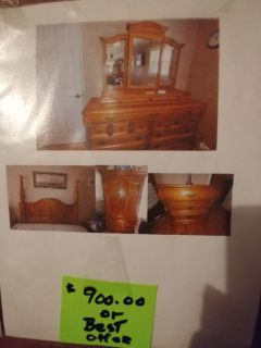 4 poster queen bedroom set