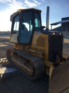 2012 John Deere Construction 450J LT