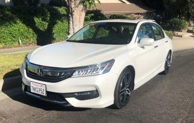 2016 Honda ACCORD SEDAN 4dr V6 Auto Touring (White)