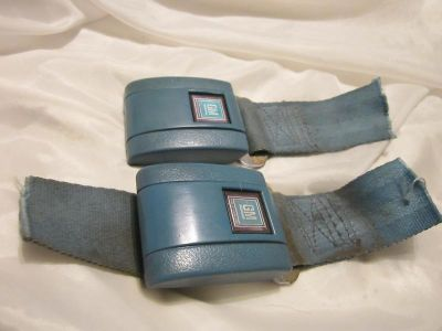 Purchase 1967-72 GM A-Body F-Body Standard blue Seat Belt buckles(2 of them) motorcycle in Nampa, Idaho, US, for US $19.99