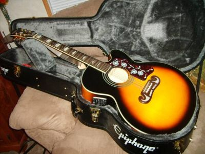 Epiphone acoustic or electric guitar