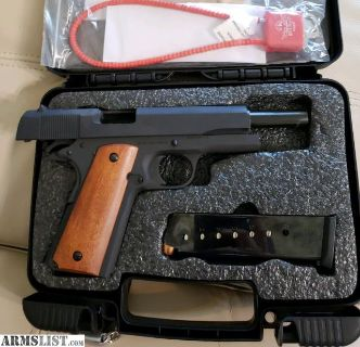 For Sale/Trade: Brand new Rock Island 1911, 45 caliber. Comes with box of ammo.