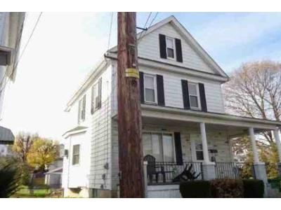 3 Bed 1 Bath Foreclosure Property in Pittston, PA 18640 - Swallow St