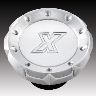 Sell XTREME MACHINE V CUT DUMMY FUEL CAP GAS CAP CHROME FOR HARLEY motorcycle in Gambrills, Maryland, US, for US $34.95