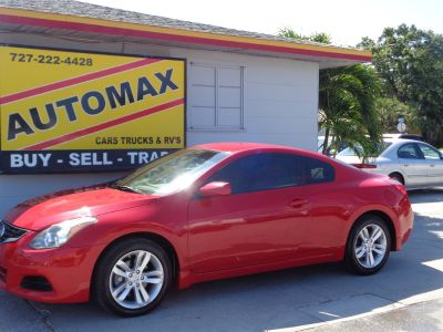 2010 Nissan Altima 2.5 S (Red)