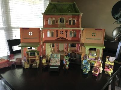 Child s Doll-House including furniture-see additional pictures