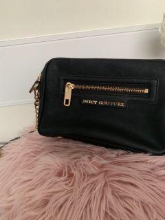 Juicy Couture camera bag - black saffiano