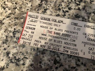 Band Perry Tickets
