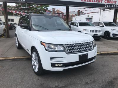 2015 Land Rover Range Rover SUPERCHARGE (White)