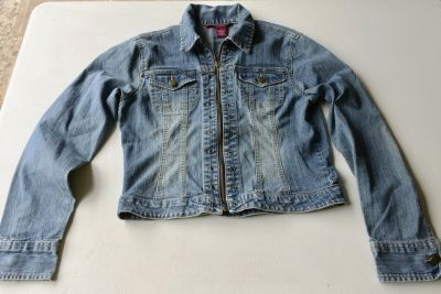 Jeans Zip up jacket by So (M)