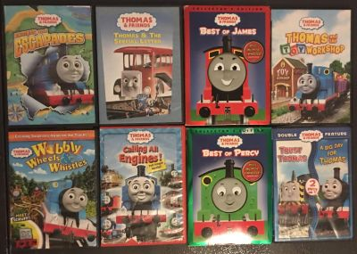 Thomas The Train Interactive DVDs