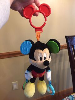 Mickey Mouse car seat toy