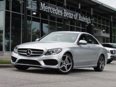 2015 Mercedes-Benz C-Class (Iridium Silver Metallic)