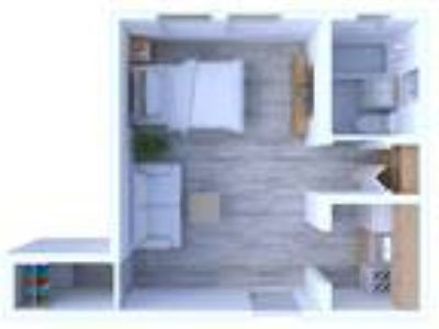 Park Wellington Apartments - Studio Floor Plan S2