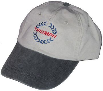 Find Triumph laurel leaf embroidered hat motorcycle in San Tan Valley, Arizona, United States, for US $12.00