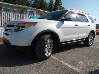 2013 Ford Explorer Limited (White)