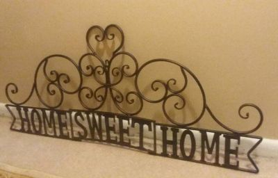 (ENORMOUS) HOBBY LOBBY WROUGHT IRON WALL DECOR......NEW CONDITION