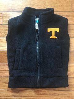 ADORABLE TENNESSEE VEST ! Super condition in BLK size 12 months