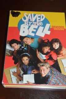 Saved by The Bell Seasons one and two DVD
