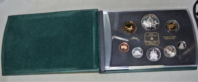 2000 Sterling Silver Proof Set - With Voyage of Discovery Silver Dollar
