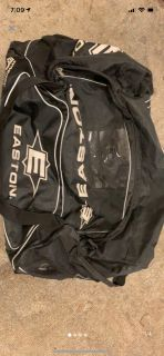 Easton Rolling hockey bag - used a lot but still works perfectly fine