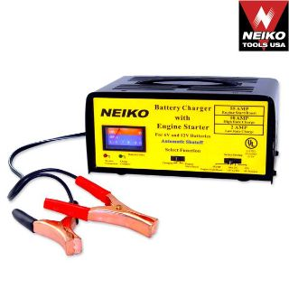 Sell Neiko 2/10/55 Amp Battery Charger Engine Starter Automotive Tools CAR RV BOAT motorcycle in Chino Hills, California, US, for US $49.95