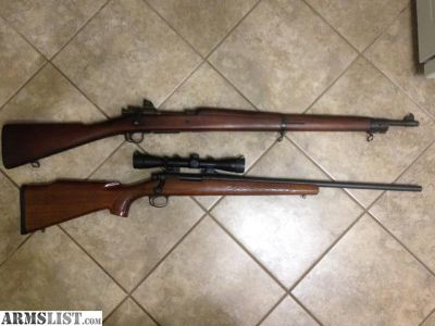 For Sale/Trade: US Remington model 03A3, Remington 243 model 700 with leopold