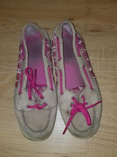 Sperry size 3.5 some wear